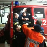 Rettung mit Spineboard
